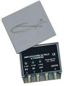 AMPL. DA PALO VHF/UHF 2 INGRESSI