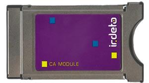 Cam C.I. Irdeto Access DVB + HOT 123