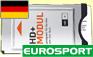 HD PLUS CARD+CAM CI+ 23 CANALI </BR> 6 MESI + EUROSPORT