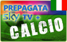 CARTA PREPAGATA  SKY TV HD  + SKY CALCIO HD