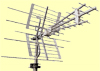 EMME ESSE ANTENNA  COMBO VHF+UHF  LTE